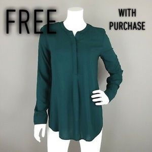 Teal old navy the tunic shirt